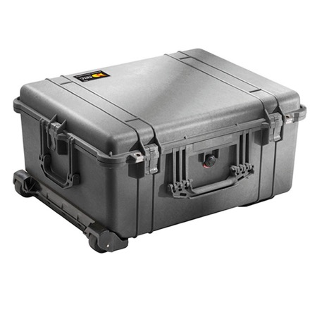 Valise PELI LARGE CASE - Dim Int : 55,1 x 42,2 x 26,8 (21,6+5,2)cm