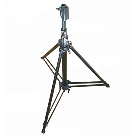 Pied complet pour poursuite LDR Black followspot tripod
