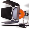 PINCEBOL/QC/O-Projecteur / Torche Pince Bol Pinza COSMOLIGHT 250/500W - Orange