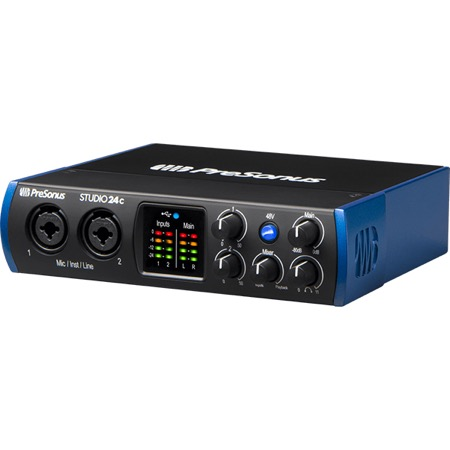 Interface audio USB-C 2X2 STUDIO 24C Presonus