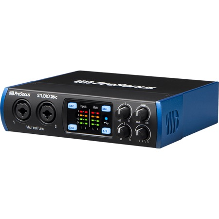 Interface audio USB-C 2X6 STUDIO 26C Presonus