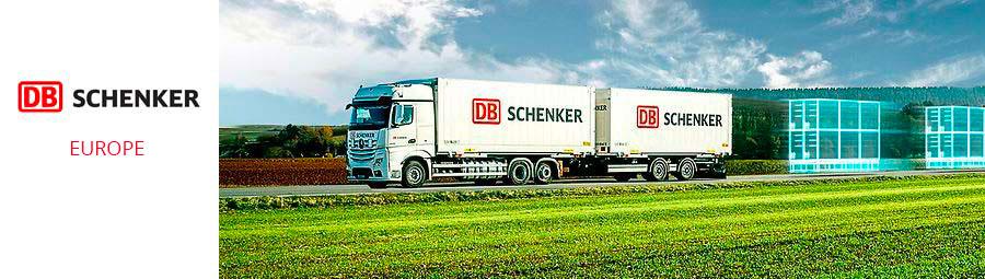 camion livraison DB Schenker Europe