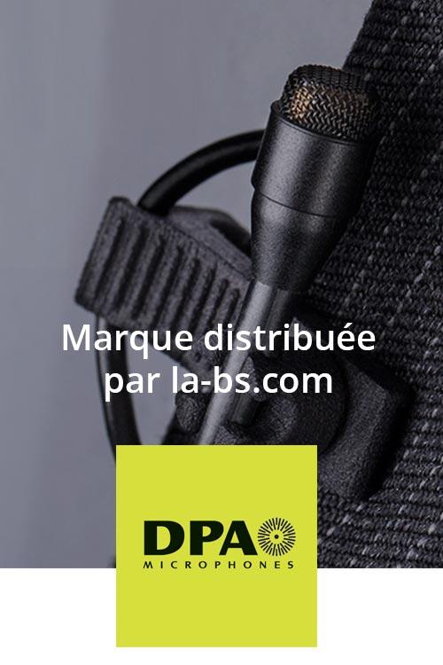 DPA micros accessoires instrument serre tête lavalier cravate
