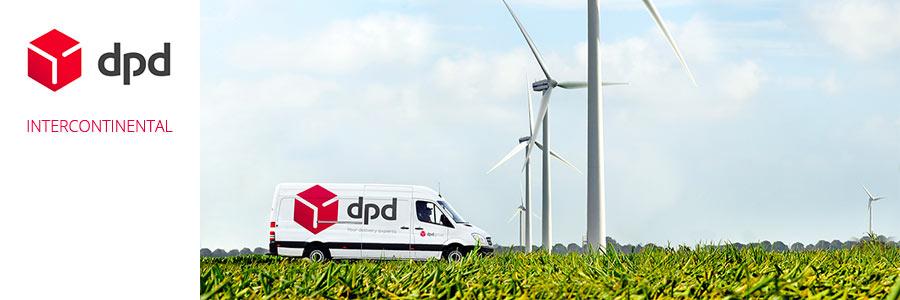 camion livraison DPD intercontinental