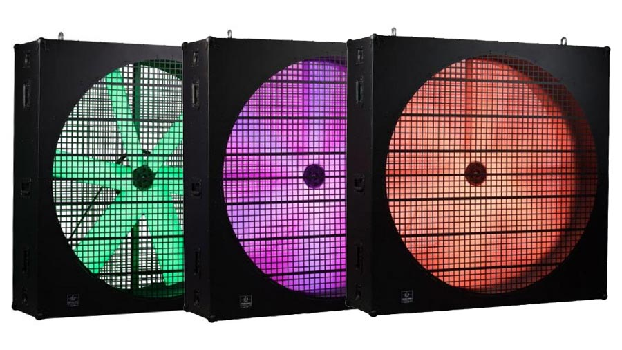 GLP ventilateur LED fan RVB