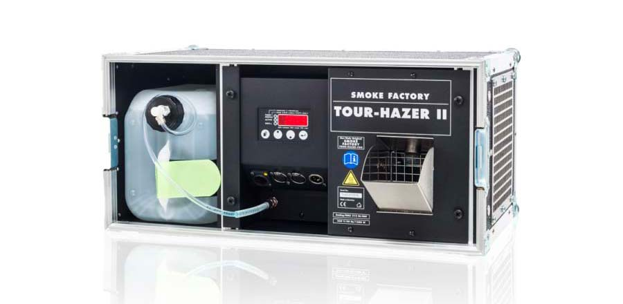 Machine à brouillard 1500W Smoke Factory Tour Hazer II 2