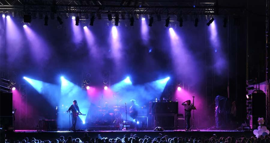 Machine fumee brouillard Smoke Factory concert