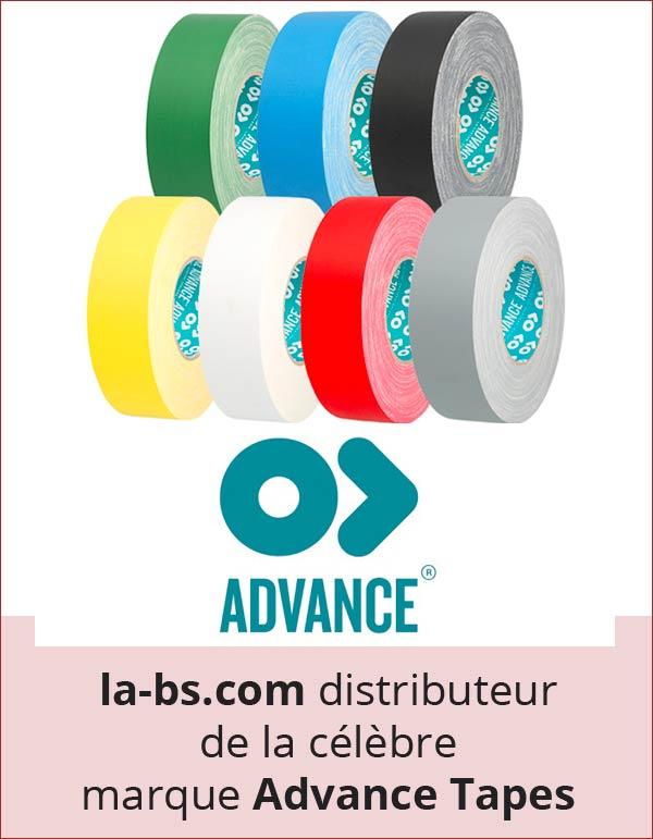 Advance tapes gaffers adhésifs de marquage PVC tapis de danse antidérapant isolant mat brillant
