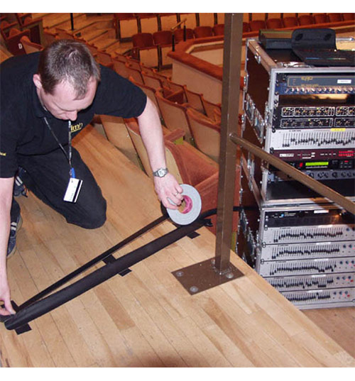 Advance Tapes adhésif gaffer rouleau classique toilé marquage du sol