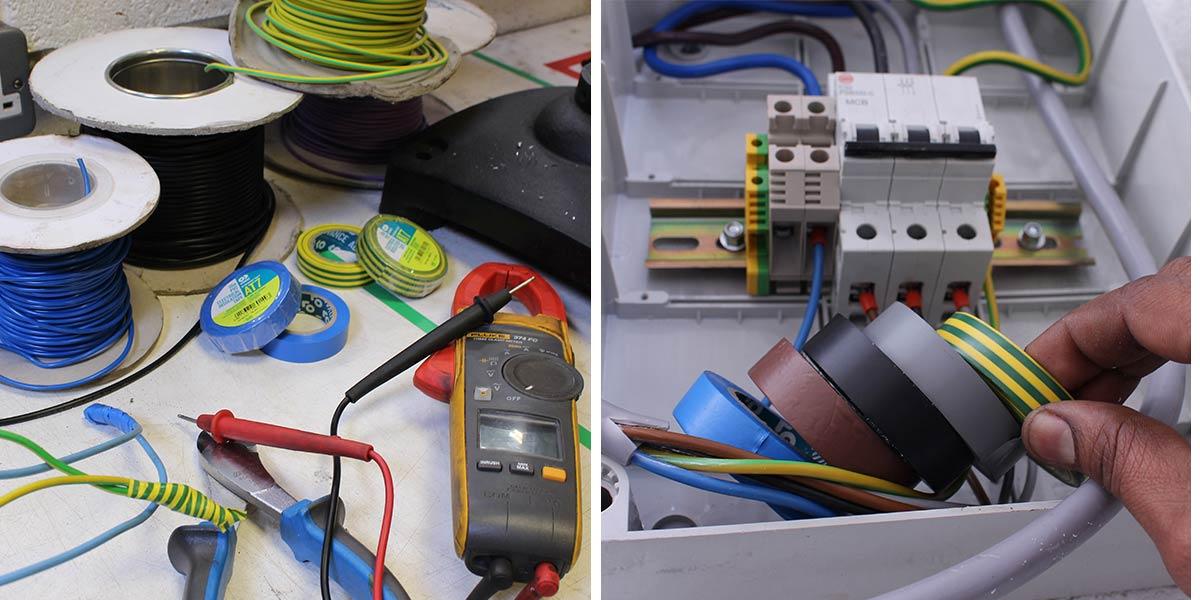 Advance Tapes adhésif gaffer isolant électrique PVC rouleau
