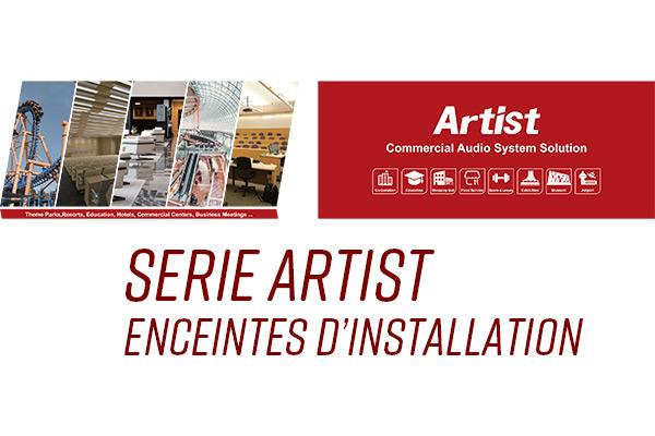 Enceintes d'installation serie Artist