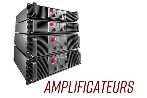 Audiocenter amplificateurs de puissance standard hybride basse impédance