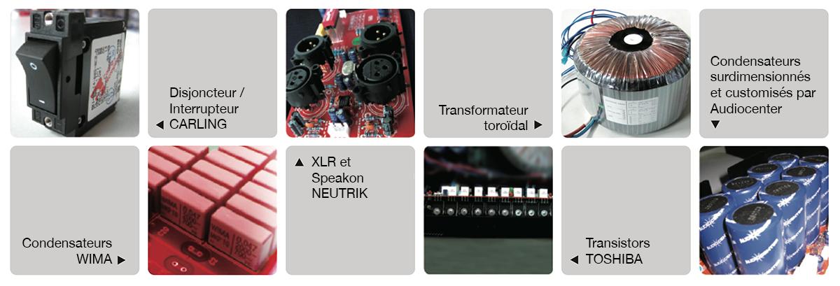Composants serie PRO