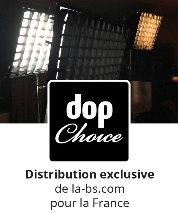 Dop Choice contrôle de la lumière pour projecteurs LED sur batterie