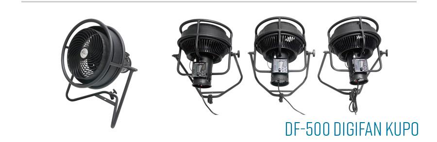Kupo DF-500 DIGIFAN ventilateur fan DMX