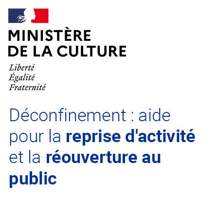Lignes guide du minsitere culture reouverture public covid19