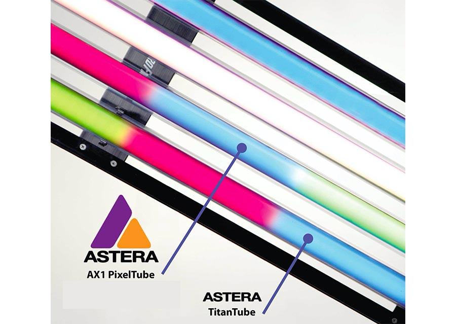Hydroflex filmer sous l'eau tubes fluorescents socle Astera