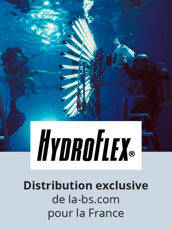 Hydroflex filmer sous l'eau professionnel equipement underwater cinematography