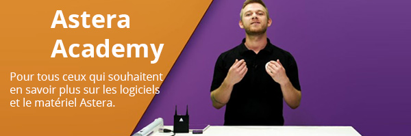 Astera Academy webinars
