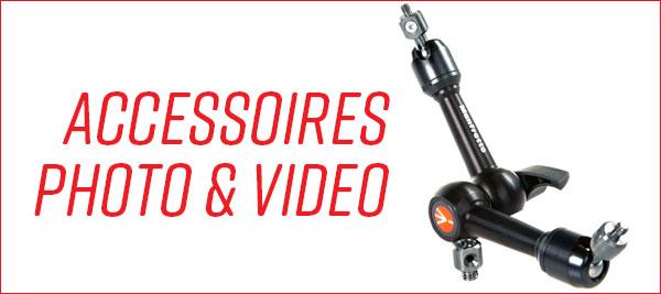 Accessoires photo et video Manfrotto