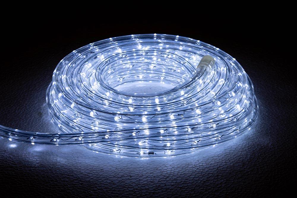 rouleau cordon lumineux LED blanc froid