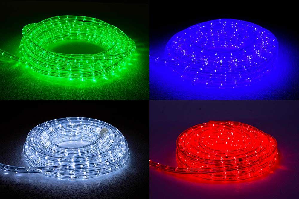 rouleau de cordon lumineux LED