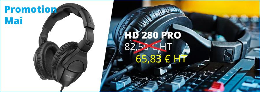 promotion casque HD280PRO