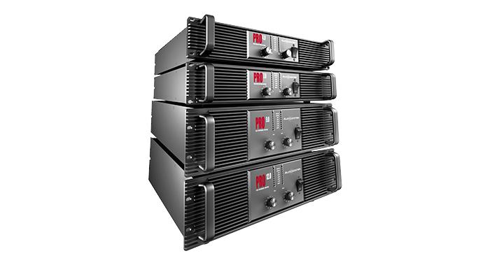 Serie PRO amplificateurs de puissance