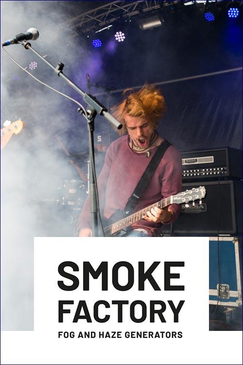 Smoke factory machine à fumée brouillard