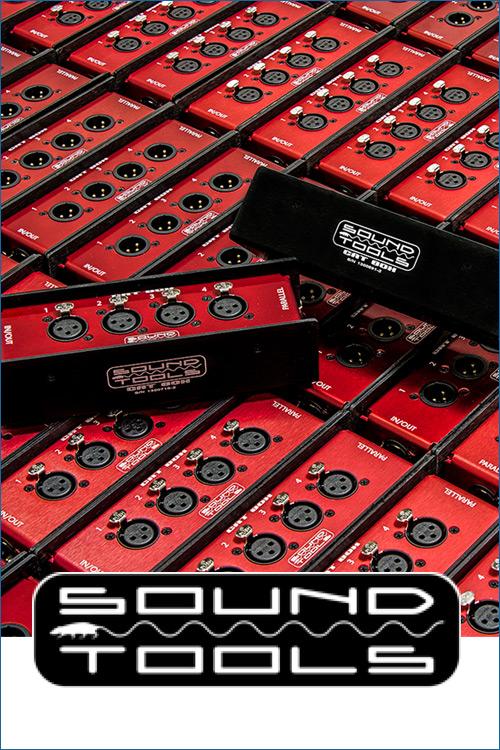 soundtools outils audio cables reseaux DMX peripheriques