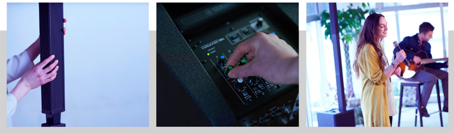 yamaha Stagepas 1K systeme portable de sonorisation